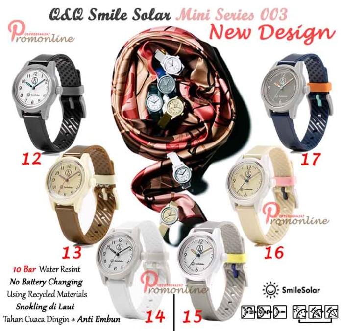 harga Jam tangan q&q smile solar mini new (vintage series) Tokopedia.com