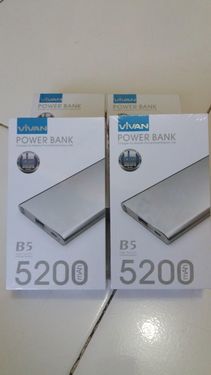 Power Bank Vivan B5 5200 Mah