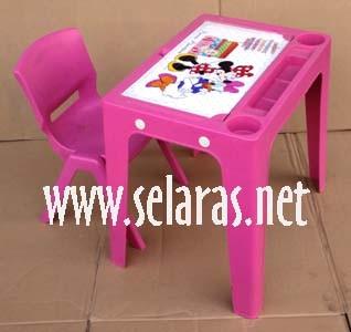 harga 1 kursi anak plastik ok305 set 1 meja okt olymplast pink Tokopedia.com