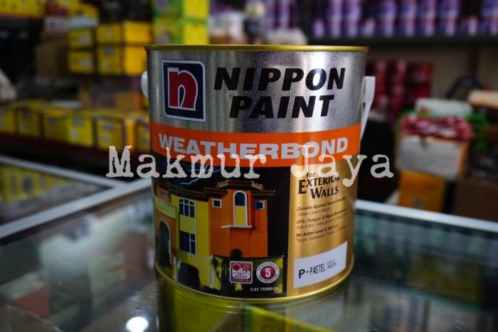 harga Weatherbond tinting cat tembok eksterior nippon paint warna Tokopedia.com