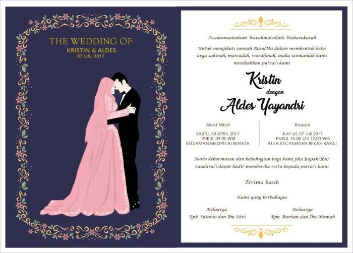 Jual undangan online custom design | undangan | pernikahan - Kab ...