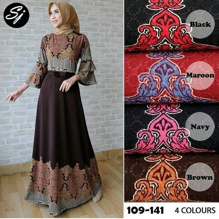 Jual Busana Muslim Wanita Long Dress Maxy Dress Adisty Batik Maxy Kab Bandung Diana Fashion Shopp Tokopedia