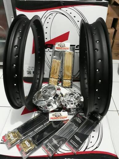 harga Velg rx king 215-18/250-18 merk rossi sepaket tromol dan jarijari Tokopedia.com