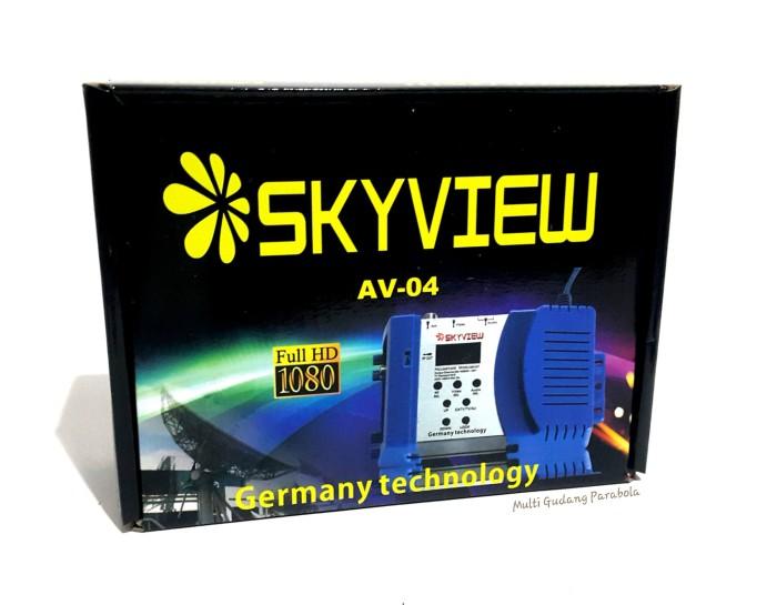 harga Modulator skyview av04 av to rf stereo (vhf/uhf) Tokopedia.com