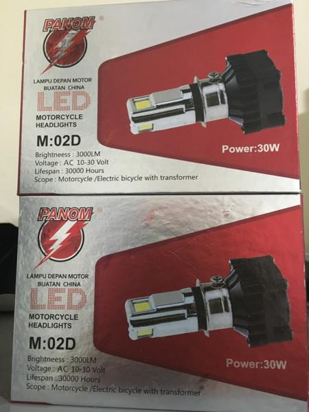 harga Lampu led headlamp sepeda motor generasi terbaru hemat daya setara hid 35watt Tokopedia.com