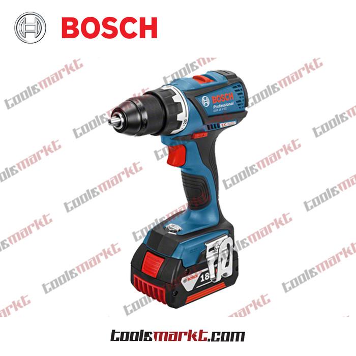 harga Bosch gsr 18 v-ec bor obeng baterai cordless driver drill gsr18v-ec Tokopedia.com