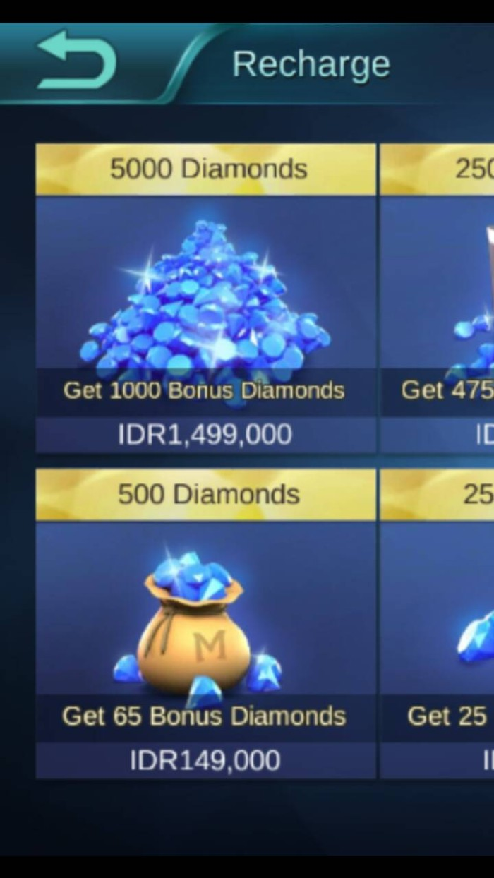 Jual Promo 5000 Diamond Bonus 1000 Diamond Mobile Legend Ios Only
