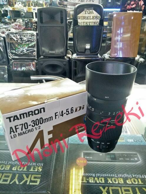 harga Lensa tamron tele zoom 70-300mm for dslr canon/nikon Tokopedia.com