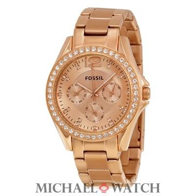harga Jam tangan fossil es2811 riley multifunction rose tone Tokopedia.com