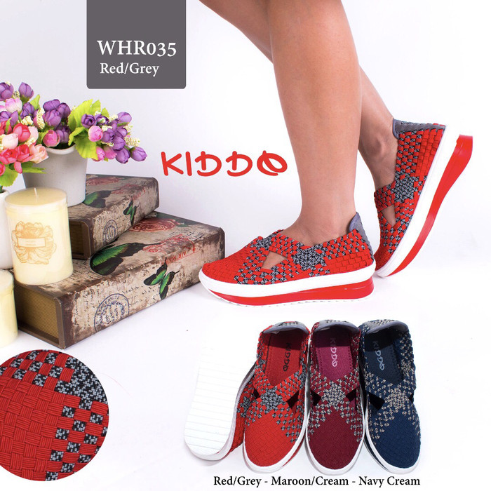 harga Sepatu rajut lulia cynthia kiddo wedges hr035 Tokopedia.com