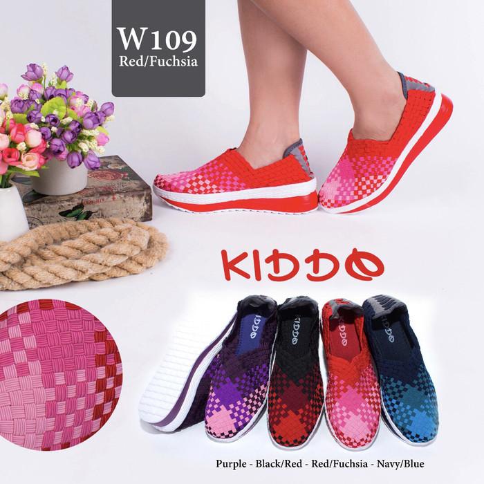 Dijual Sepatu Rajut Anyaman Lulia Cynthia Kiddo Wedges 109 Di ... 2c2d862944