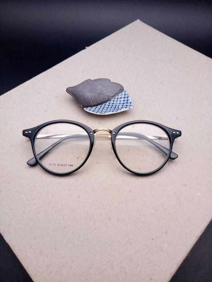 Jual frame kacamata minus bulat wanita 6172 korea - KACAMATA ... 3e15db9d27