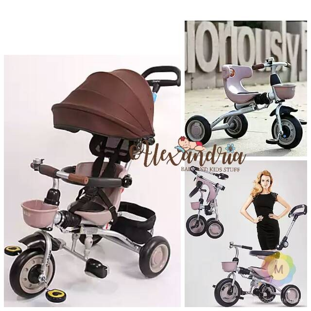 harga Sepeda tricycle sepeda roda tiga sepeda bayi sepeda lipat Tokopedia.com