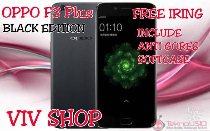 harga Oppo f3 plus black edition new garansi 1 tahun Tokopedia.com