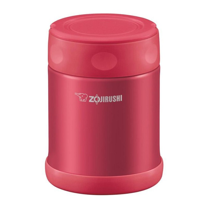 harga Zojirushi stainless steel food jar sw-eae35 - candy pink Tokopedia.com