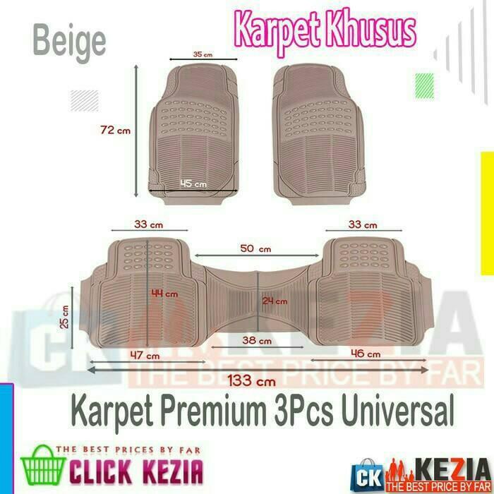 harga Toyota starlet karpet karet premium 3psc universal Tokopedia.com
