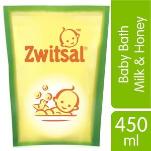 harga Zwitsal baby bath milk and honey sabun cair bayi refill 450ml 450 ml Tokopedia.com
