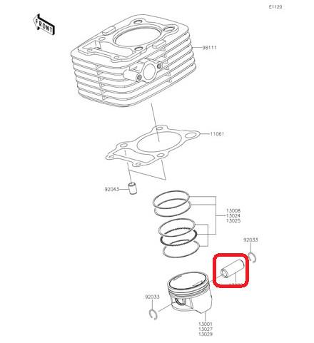 harga Pin piston kawasaki klx 150 original ready stock Tokopedia.com