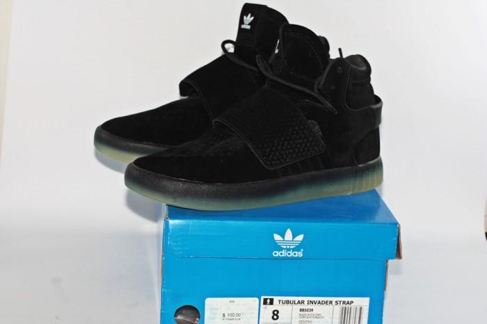 Jual Adidas tubular invader strap black gum ice murah sale BNIB ... 510a91586