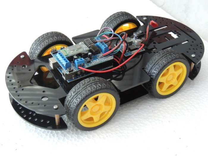 harga Iphone android bluetooth remote control 4wd arduino robot smart car Tokopedia.com