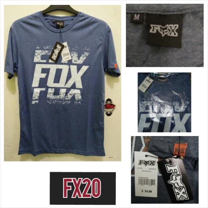 Kaos distro surfing skate fox premium kode : fx20