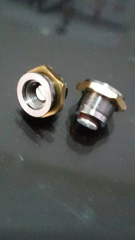 Foto Produk connector 510 mini spring loaded 13.5mm dari versus box mod supply