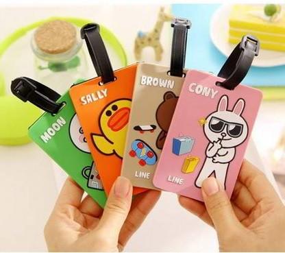 harga Gantungan koper/name tag line character ( cony/sally/moon/brown) Tokopedia.com