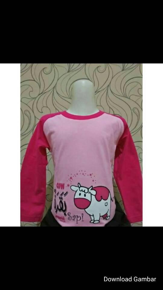Jual Kaos Anak Perempuan Muslim Kamus Sapi Kota Cimahi Febri Kids Shop