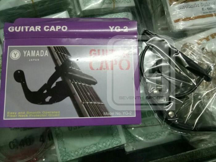 harga Capo gitar yamada yg-2 murah akustik anti lecet neck Tokopedia.com