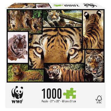 harga Puzzle jigsaw harimau 1000 pcs - sni Tokopedia.com