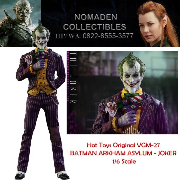 HOT TOYS BATMAN ARKHAM ASYLUM VGM27 JOKER Scarpe Loose SCALA 1//6th