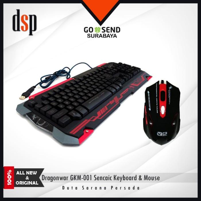 c3f5dd298a8 Jual Dragonwar GKM-001 Sencaic Combo Gaming Keyboard + Mouse - Kota ...