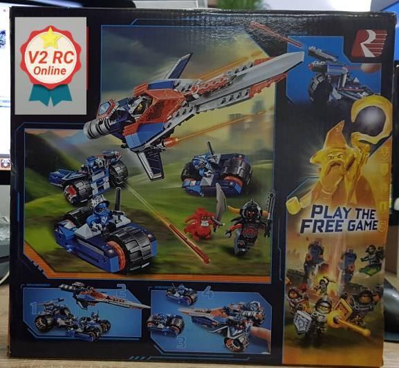 Lego Lepin 14012 Clay& 39 s Rumble Blade Nexo Knights .