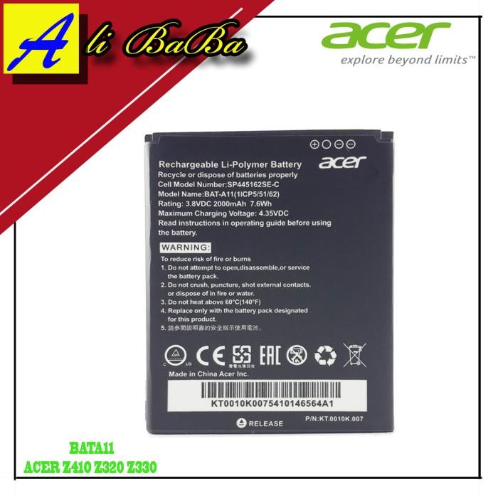 harga Baterai handphone acer bat-a11 acer z410 z320 z330 batre hp original Tokopedia.com