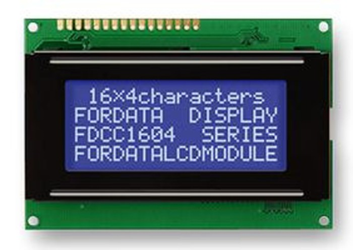 Foto Produk LCD 1604 karakter character 16 x 4 16*4 16X4 BLUE COLOR biru backlight dari M-kontrol