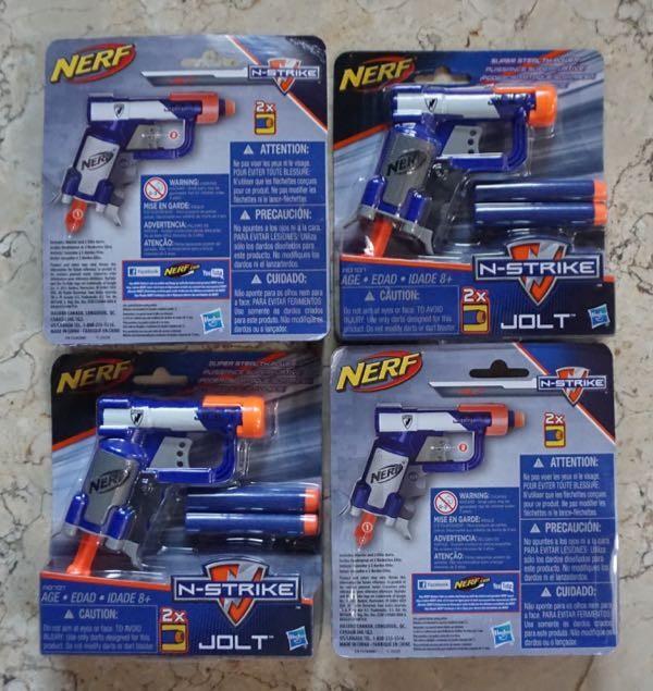 harga Nerf Elite - Jolt / Nerf Handgun / Pocket Nerf Tokopedia.com