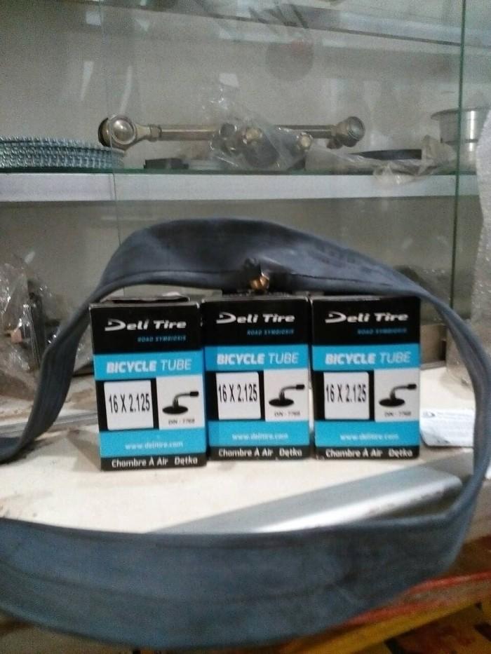 harga Ban dalam sepeda listrik/sepeda lipat,pentil bengkok,ukuran 16x2.125 Tokopedia.com