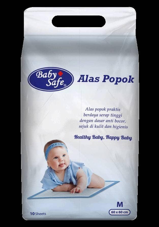 harga Baby safe alas popok/under pad perlak sekali pakai Tokopedia.com