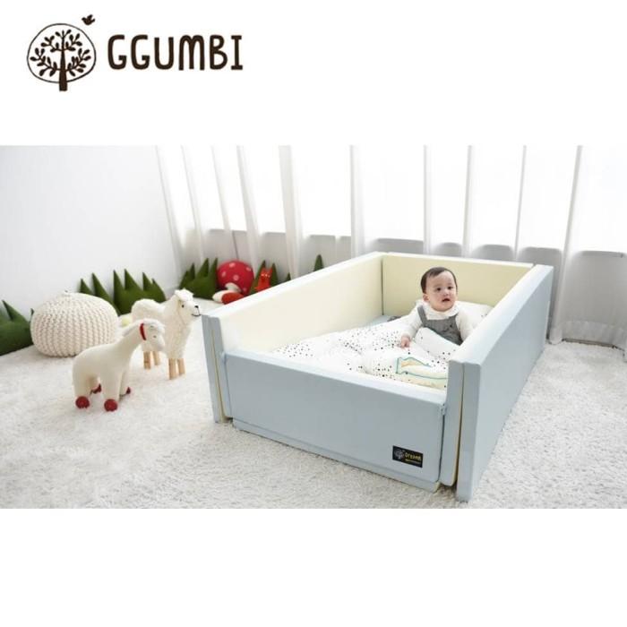 Jual Ggumbi Bumper Bed – Indie Blue 12in1 Harga Promo Terbaru