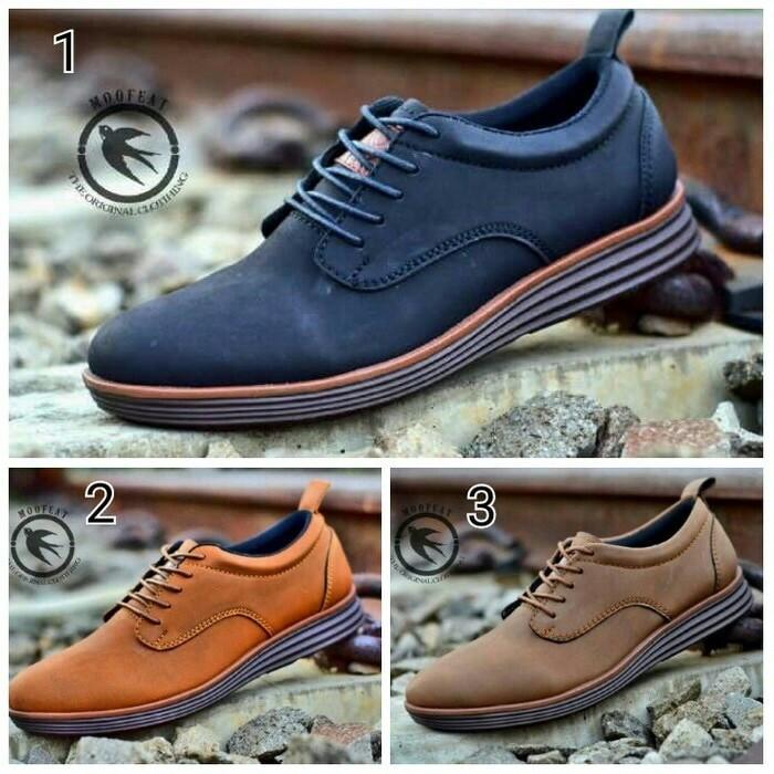 Sepatu low boots pria moofeat casual lunar