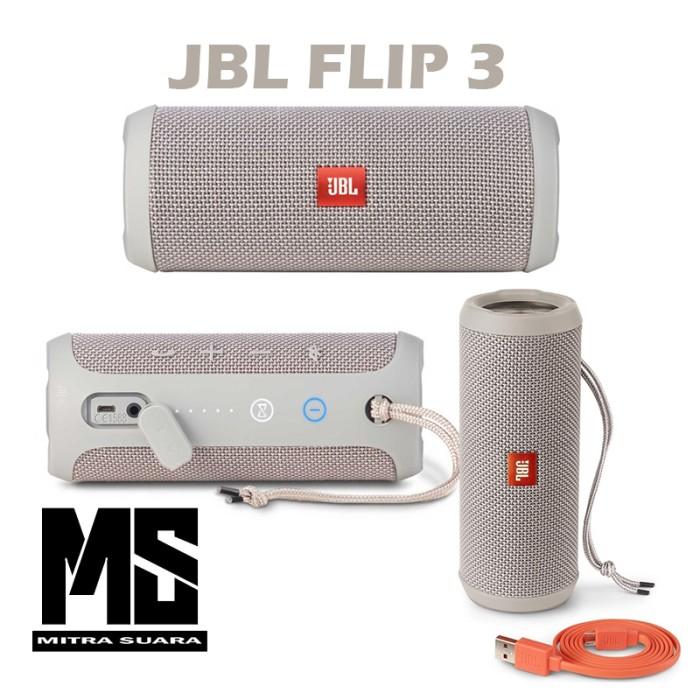 harga Jbl flip 3 speaker bluetooth original garansi 1th pt.ims - gray Tokopedia.com