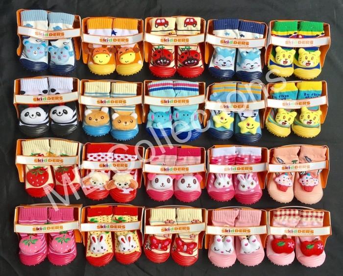 Skidder Sepatu Baby Motif Boneka Harimau Kuning 02 Uk 23