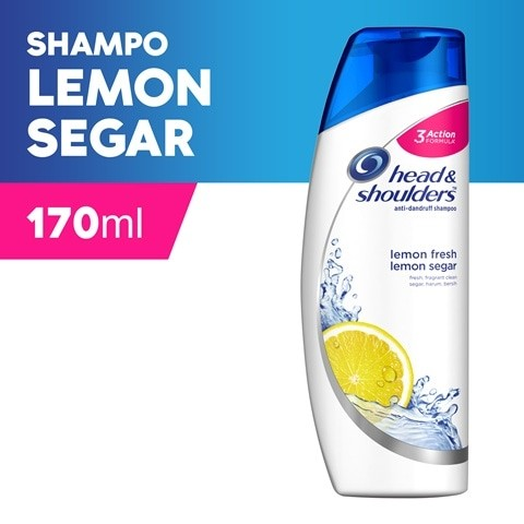 harga Head & shoulder sampo lemon fresh (anti dandruff) 170 ml Tokopedia.com