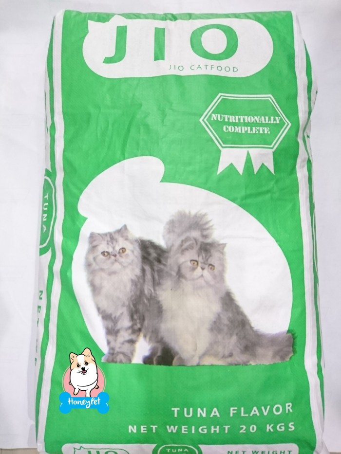 harga Jio cat tuna makanan kucing murah catfood murah petfood berat 20kg Tokopedia.com