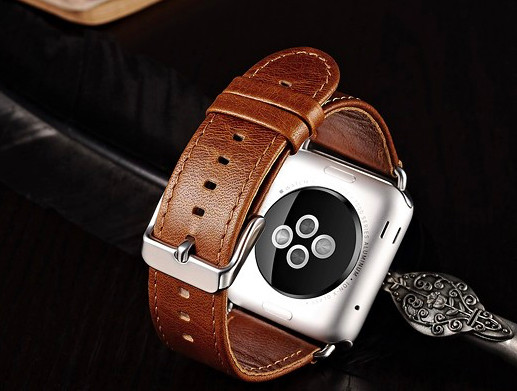 harga Tali jam tangan kulit asli apple watch 38mm 42mm leather strap band Tokopedia.com