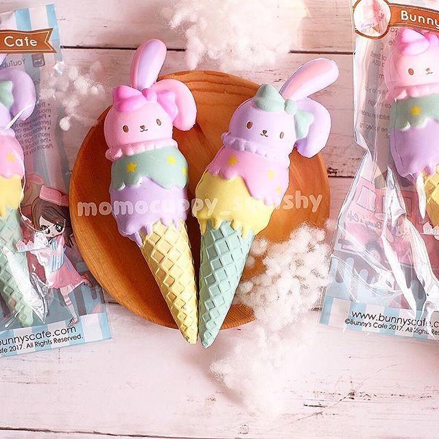 Promo triple cone bunny by bunny's cafe (diskon es krim bunny cafe)