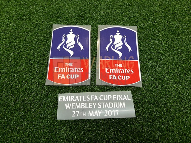 Foto Produk PATCH THE EMIRATES FA CUP FINAL 2017 WITH MATCH DETAIL (CHELSEA) dari Warung Remake