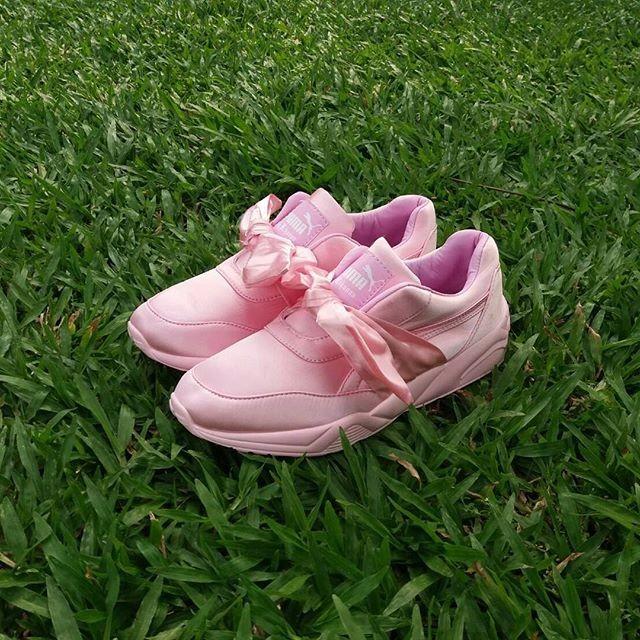 harga Puma fenty bow pink / sepatu cewe / kado cewe / sepatu running Tokopedia.com