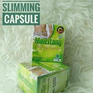 ORIGINAL Meizitang Slimming Capsule MZT BPOM - Kapsul Pelangsing