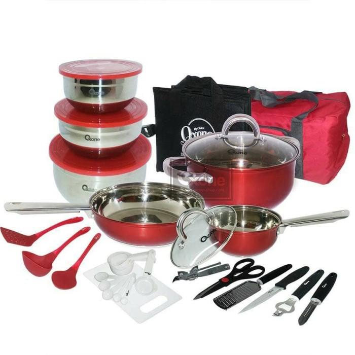 Oxone set 33pcs travel cookware set ox-993 ox993